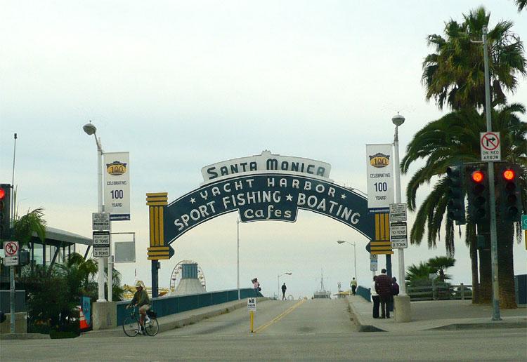 Santa Monica Pier, Los Angeles © Andrea David