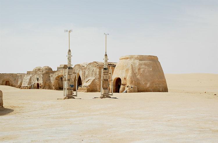 Tatooine © Fremdenverkehrsamt Tunesien