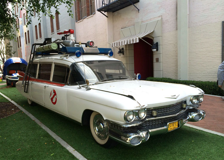 """Ghostbusters"" Ecto-1, Sony Pictures Studios, Los Angeles © Andrea David"