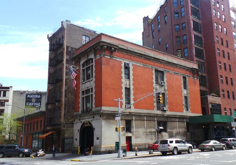 """Ghostbusters"" Feuerwache, Tribeca, New York © Andrea David"