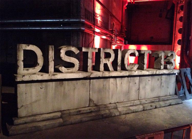 """Drehort """"Die Tribute von Panem - Mockingjay"""", Kraftwerk, Berlin © Simon Behrens"""