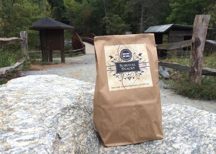 Hunger Games Survival Snacks, DuPont State Forest, North Carolina © Andrea David