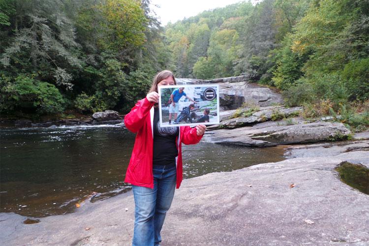 Hunger Games Tour, DuPont State Forest, North Carolina © Andrea David