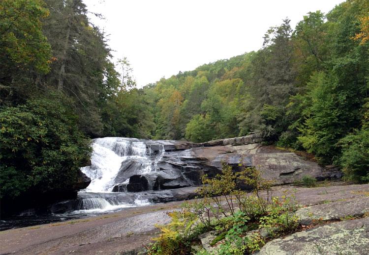 Triple Water Falls, DuPont State Forest, North Carolina © Andrea David