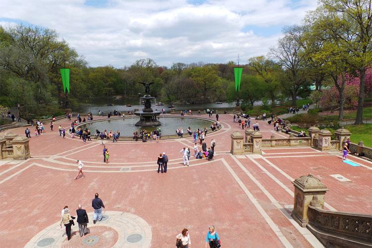 Bethesda Fountain, Central Park, New York © Andrea David
