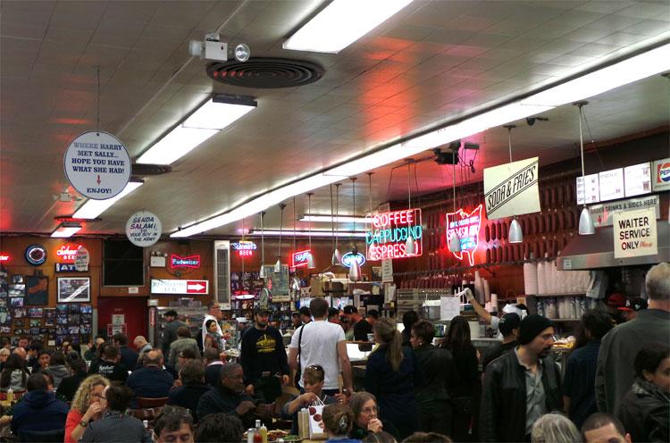 Katz's Delicatessen, New York © Andrea David