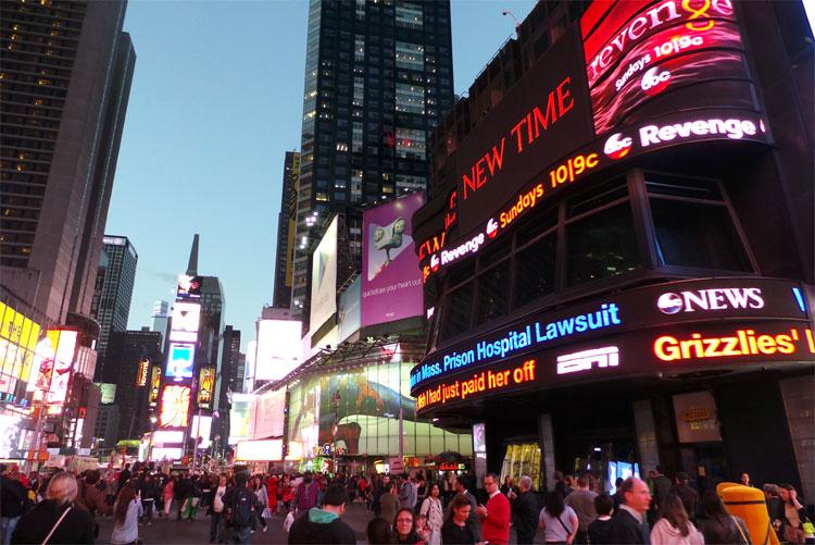 Times Square, New York © Andrea David