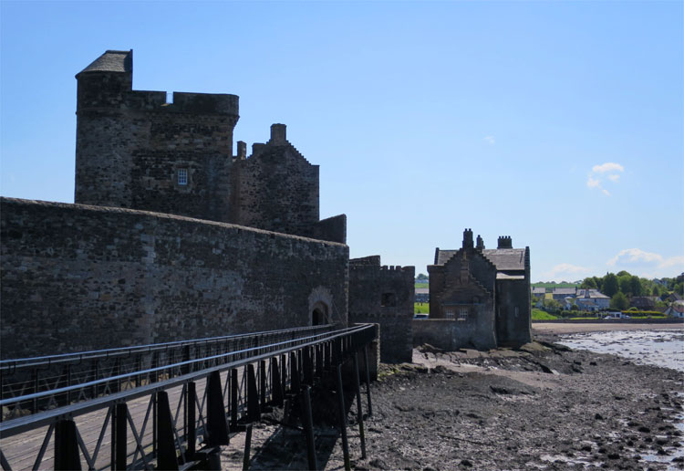 Blackness Castle, Schottland © Andrea David