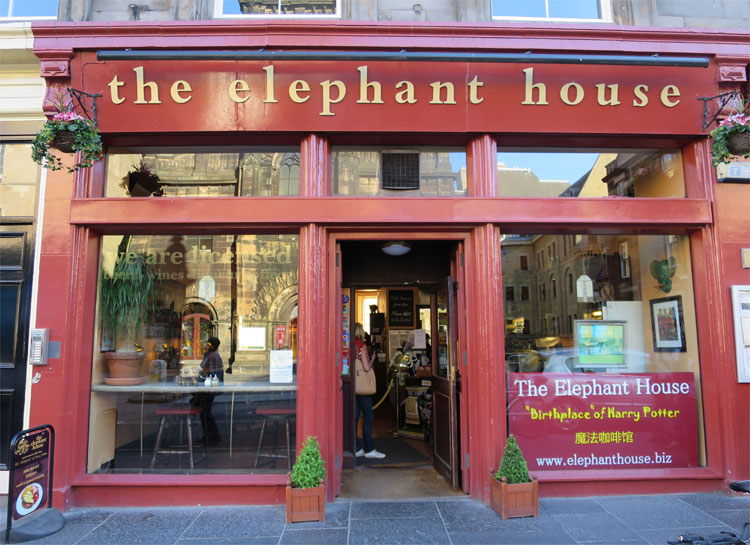 Elephant House, Edinburgh, Schottland © Andrea David