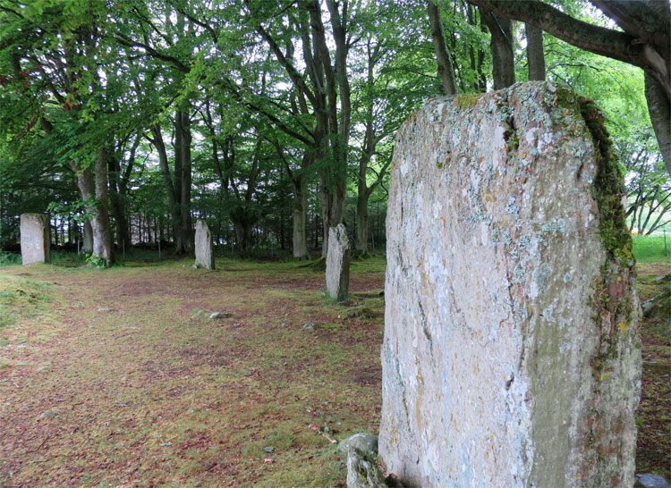 Steinkreis Clava Cairns bei Inverness, Schottland © Andrea David