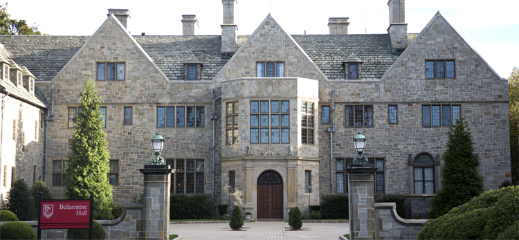 Bellarmine Hall, Fairfield Universität, Connecticut