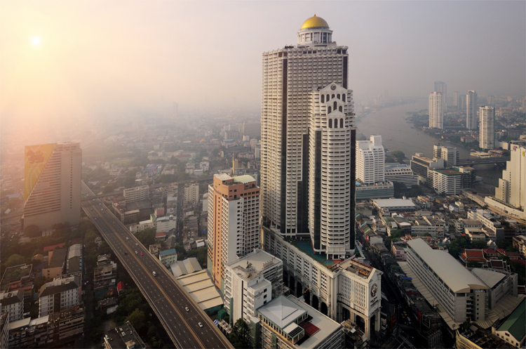 Lebua at State Tower, Bangkok, Thailand © Lebua