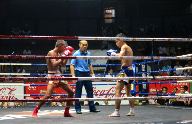 Muay Thai, Bangkok, Thailand © Andrea David