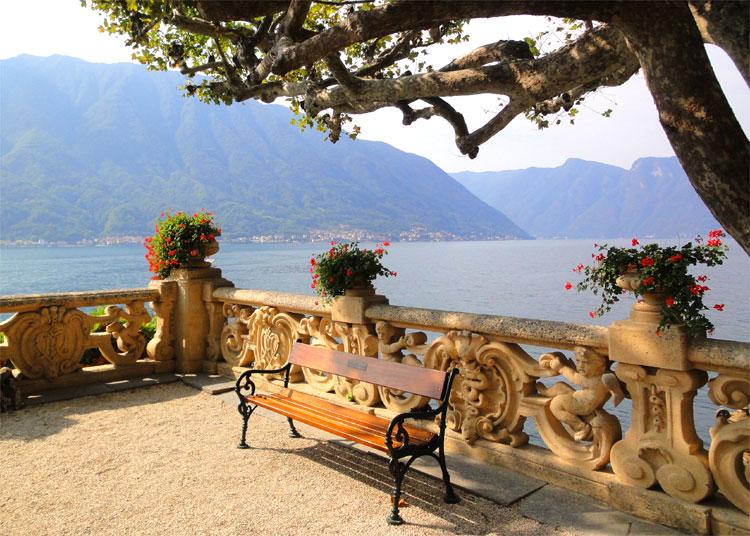 """""""Star Wars"""" Drehort Villa del Balbianello, Lago di Como, Italien © Andrea David"""