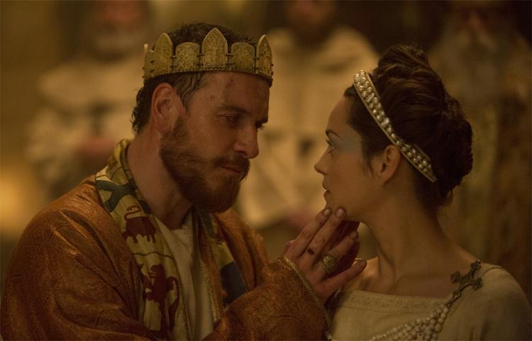 Michael Fassbender und Marion Cotillard spielen die Hauptrollen im neuen Macbeth © Studiocanal