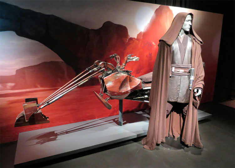 "Ausstellung ""Star Wars Identities"" © Andrea David"