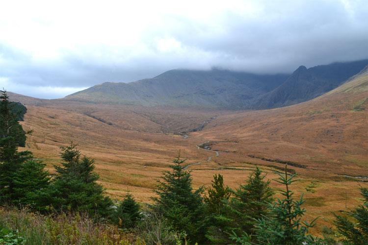 Drehort Skye, Glen Brittle, Cuillins © Doreen Reeck