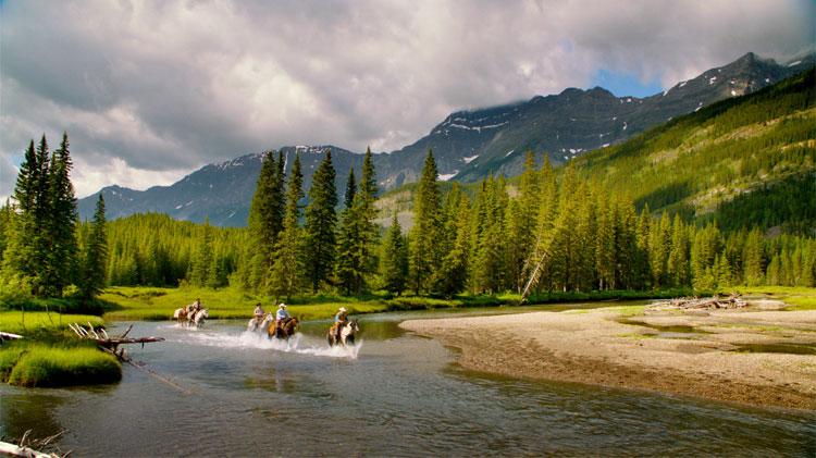 Kananaskis Country, Alberta, Kanada © Travel Alberta, Sean Thonson