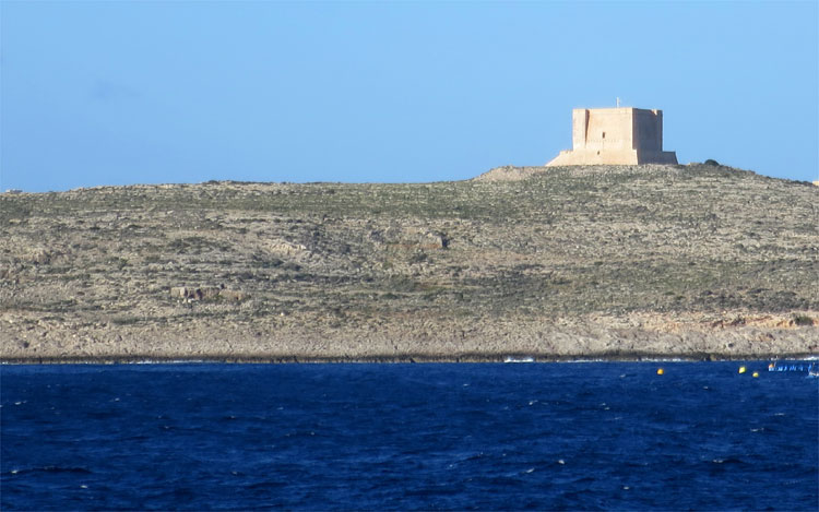 St. Mary's Tower, Comino © Andrea David