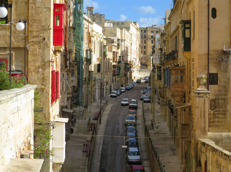East Street, Valletta, Malta © Andrea David