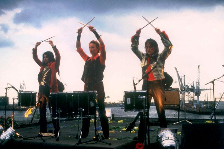 "Filmszene aus ""Bandits"", Hafen, Hamburg © Buena Vista International"