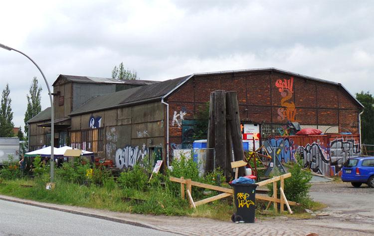 Soul Kitchen Halle, Wilhelmsburg, Hamburg © Andrea David