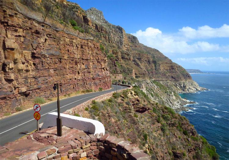 Chapman's Peak Drive, Südafrika © Andrea David