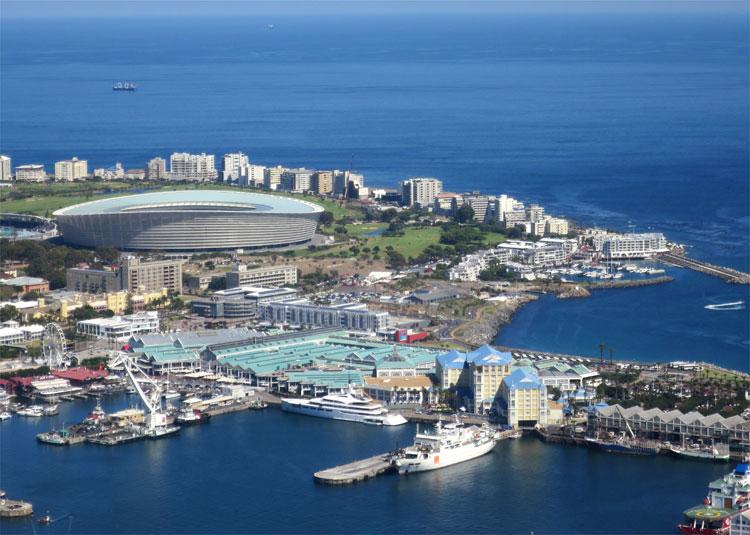 Cape Town Stadium, Kapstadt, Südafrika © Andrea David