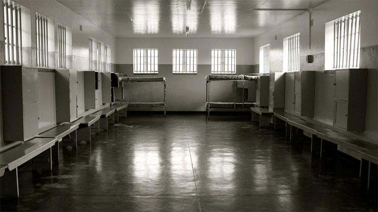 Gefängniszelle auf Robben Island, Südafrika © Andrea David