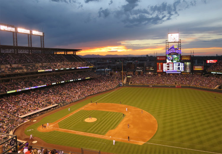 Coors Field, Denver © Andrea David