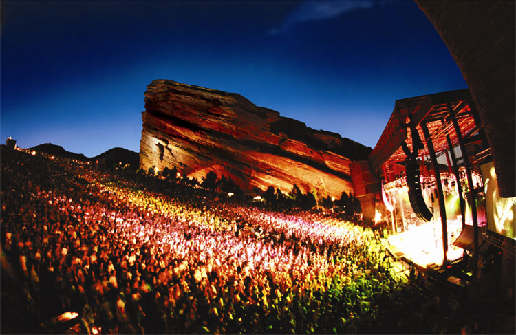 Red Rocks Amphitheatre, Denver © Red Rocks