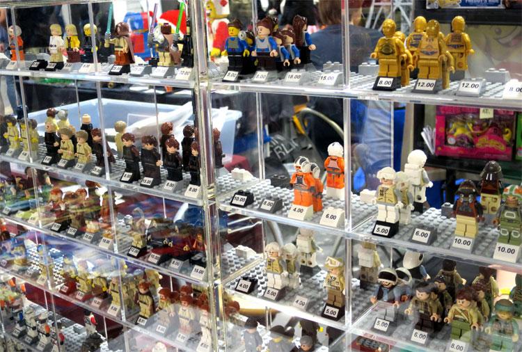 Lego Verkaufsstand, German Comic Con, Berlin © Andrea David