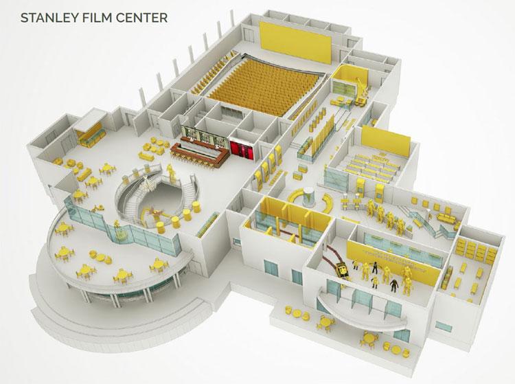Das für 2018 geplante Stanley Film Center © The Stanley Hotel