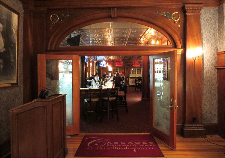 Cascades Lounge, The Stanley Hotel, Estes Park, Colorado © Andrea David