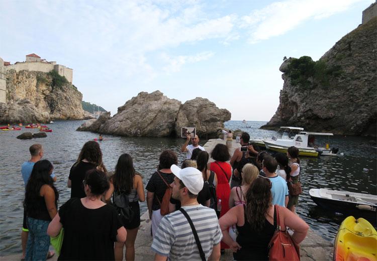 """Game of Thrones"" Tour mit Ivan, Dubrovnik © Andrea David"