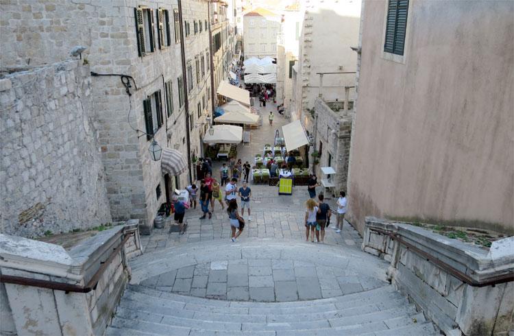 Jesuitentreppe, Dubrovnik © Andrea David