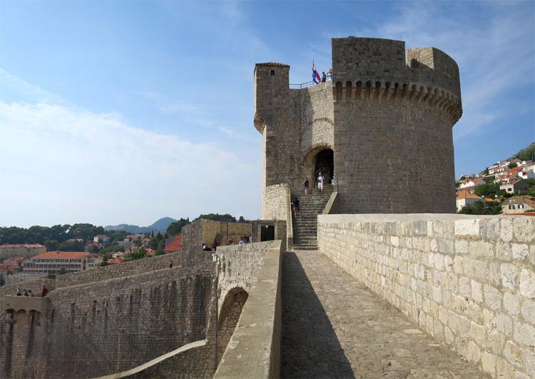 Minčeta Turm, Dubrovnik © Andrea David