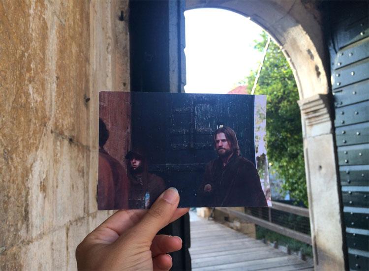 Jaime kehrt nach Königsmund zurück am Pile Tor, Dubrovnik © Andrea David
