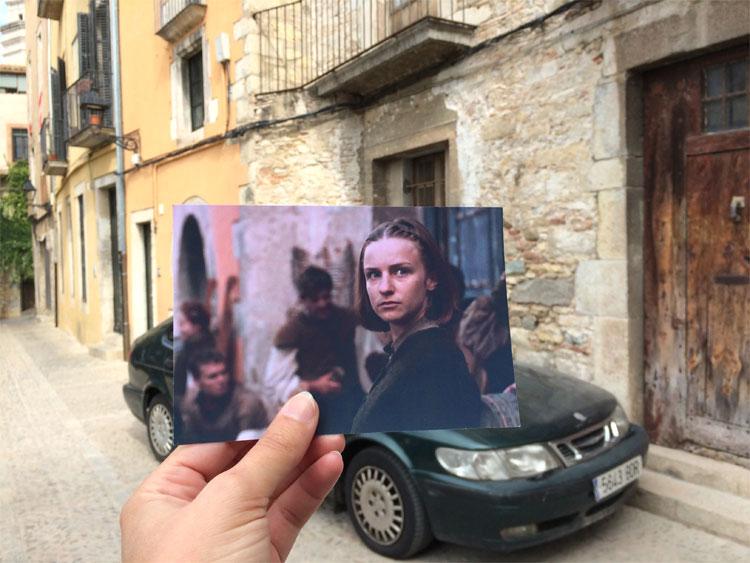 Carrer de la Claveria, Girona © Andrea David