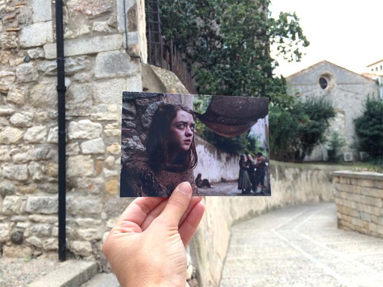Arya in Braavos, Carrer del Bisbe Josep Cartañà, Girona © Andrea David / HBO