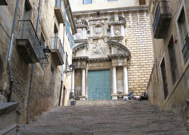 Escales de Sant Martí, Girona © Andrea David