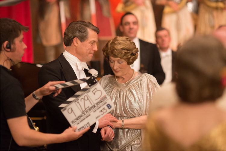 "Hugh Grant und Meryl Streep in ""Florence Foster Jenkins"" © 2016 Constantin Film Verleih GmbH"