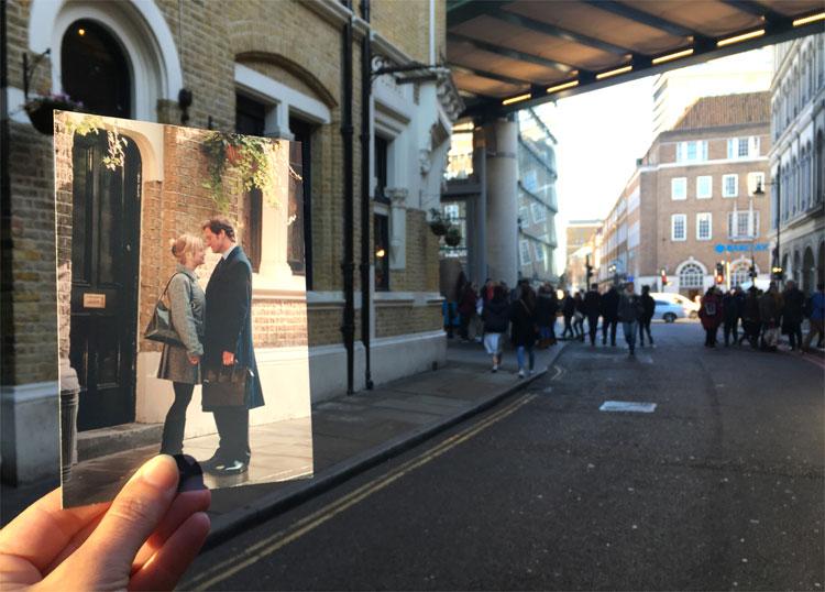"""Bridget Jones"" Drehort, Borough Market, London © Andrea David"