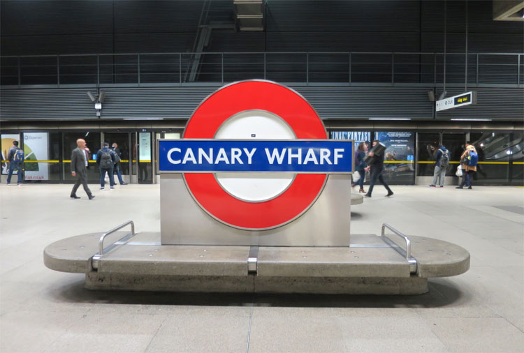 U-Bahn-Station Canary Wharf, London © Andrea David