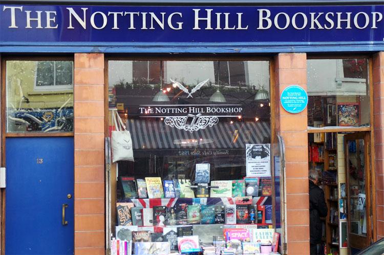 Notting Hill Bookshop, London © Andrea David