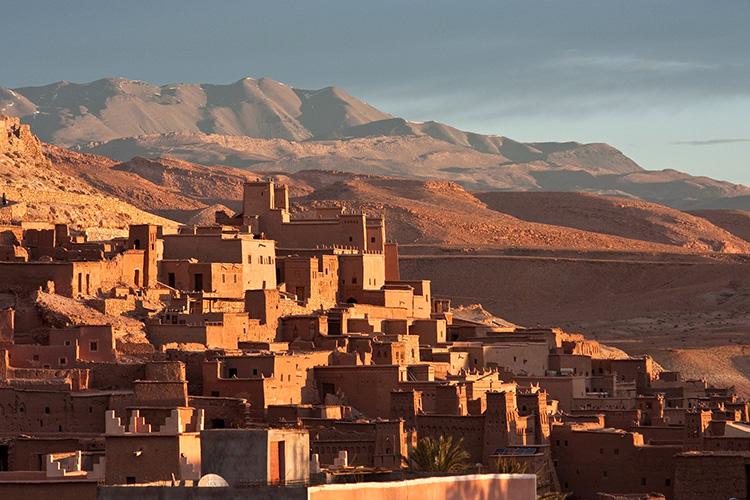 Drehort Aït Benhaddou, Marokko