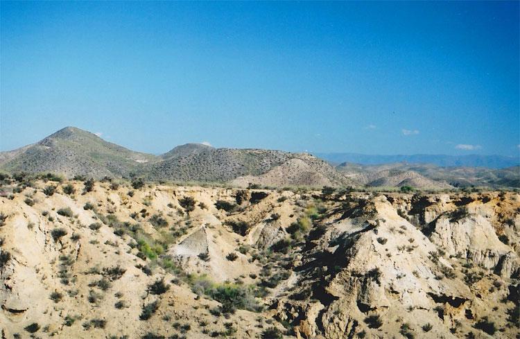 Tabernas-Wüste, Almería, Spanien © Andrea David