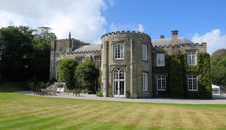 Prideaux Place, Padstow, Cornwall © Andrea David