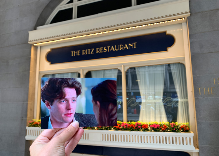 """Annas Hotel in """"Notting Hill"""", The Ritz, London"""