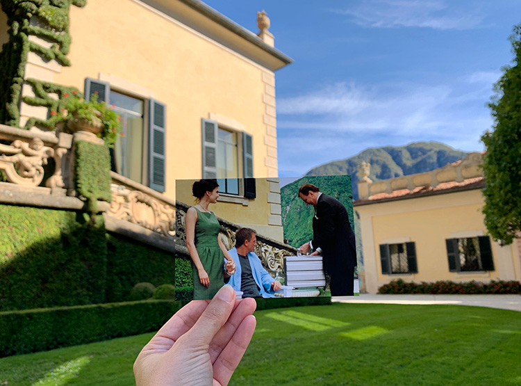 """""""Casino Royale""""-Drehort Villa del Balbianello, Lago di Como, Italien"""